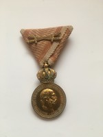 Signum Laudis Kitüntetés, I.világháború