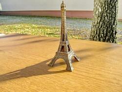 EIFFEL torony (17cm, bronz) - emléktárgy, lakásdekoráció