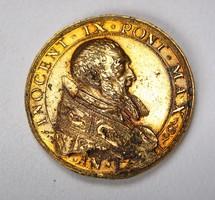 IX. Ince pápa emlékérem 1591.
