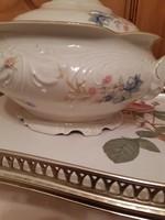 KPM porcelán leveses tál