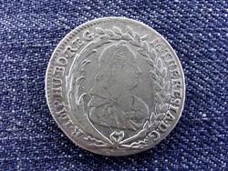 Csehország Mária Terézia (1740-1780) ezüst 20 Krajcár 1780 EvSIK / id 14207/