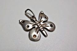 Lepke, pillangó ezüst medál