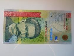 Zöld foki szigetek 500 escudos 2007 UNC