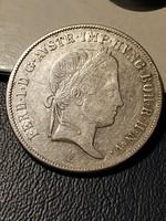 V.Ferdinánd ezüst 20 Krajcár 1838 E!