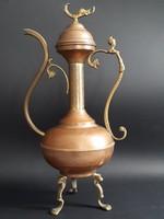 Arab stílusú kávéskanna, dísztárgy