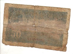 50 bani 1917 Románia