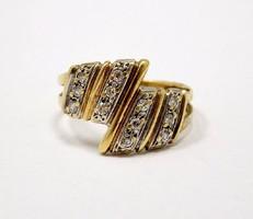 Köves arany gyűrű (ZAL-Au86060)