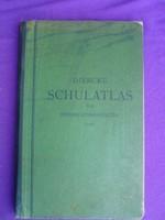 DIERCKE SCHULATLAS 1942-ből német nyelvű
