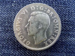Anglia VI. György (1936-1952) .500 ezüst 1/2 Korona 1942 / id 13841/