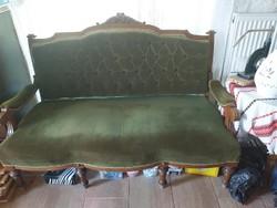 Antik Neobarokk ülőgarnitúra(szófa,és 3db fotel)