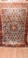 Értékes Kézi selyem Perzsa szőnyeg