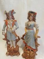 Antik rokokó pár a XVIII. század végéről
