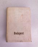 BUDAPEST  Útikönyv 1960