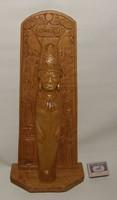 Kézi faragású inka figura