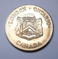 1855 - 1980 London Ontario bírósági épületének 125. évfordulója