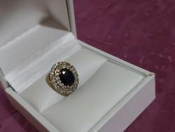 Arany medál/zafír