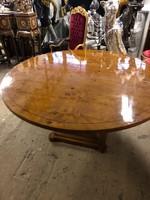 Nagy mèretű kerek tàrgyaló topolya asztal-ebédlő asztal