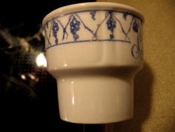 Antik Beyer & Bock shabby kaspó, váza, tartó