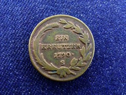 II. József 1 Krajcár 1790 S / id 4422/