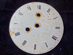 Régi óraszerkezet számlap