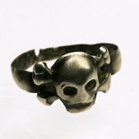 Rohamcsapat halálfejes gyűrű  I. Világháború