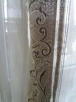 Barokk mintás függöny pár eladó