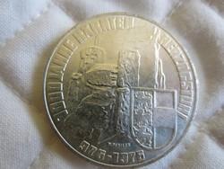 Osztrák Ausztria 100 shilling ezüst érme  24gr - 0.6400ag 1976