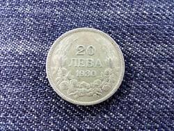 Bulgária III. Borisz (1913-1943) .500 ezüst 20 Leva 1930 BP (Budapest) / id 13990/