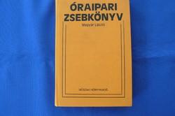 Óraipari zsebkönyv RITKA!