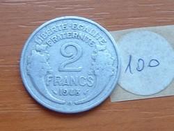 FRANCIA 2 FRANCS FRANK 1948 / B ALU. 100.