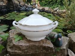 Porcelán levesestál, tál, Gyűjtői Gyönyörű darab