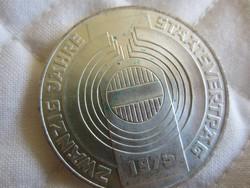 Osztrák Ausztria 100 shilling ezüst érme  24gr - 0.6400ag 1975