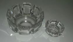 Svéd Orrefors kristályok (4 db) egyben eladó
