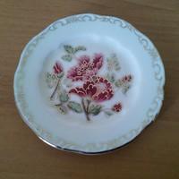 Zsolnay porcelán gyűrűtartó kerek tálka