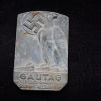 Német náci Gautag jelvény