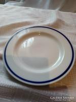 Kék csíkos zsolnay tányér