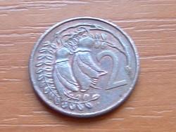 ÚJ-ZÉLAND NEW ZEALAND 2 CENT 1981 #