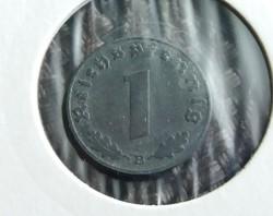 Német III. Birodalom, 1 Pfennig 1943 B!
