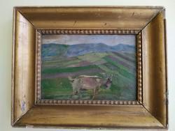 PÁLLIK BÉLA 1845 - 1908 // Eredeti festmény!