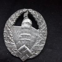 Német náci Drezda jelvény