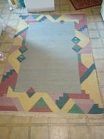 Kézi ? csomózású pamut gyapjú szőnyeg pasztell színben