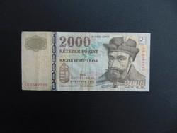 2000 forint 2007  CB