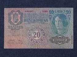 Osztrák-Magyar (1912-1915) 20 Korona bankjegy 1913 / id 14146/