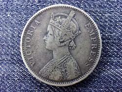 India Viktória .917 ezüst 1 Rúpia 1877 B / id 14398/