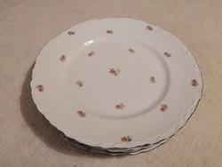 4 db virágmintás Thun főételes tányér, nagyon szépek!