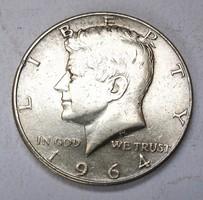 Kennedy fél dollár 1964