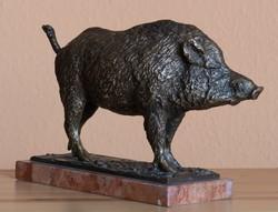 Domonkos Béla bronz szobra, VISSZAVÁSÁRLÁSI GRANCIA, SZERTIFIKÁCIÓVAL!