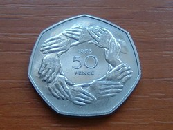 ANGLIA ANGOL 50 PENCE 1983 E.E.C. #