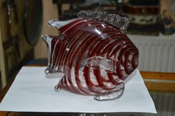 Muránói üveg hal