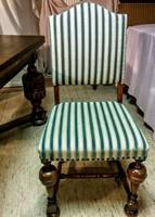 6 db antik szék